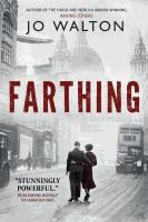 Lucy and David Kahn are invited to a country retreat hosted by the well-connected Farthing set, who overthrew Churchill in 1941 and negotiated peace with Hitler; and find themselves involved in a political murder where David becomes the prime suspect.