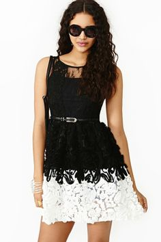 Nasty Gal Almost Rosey Dress