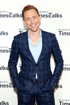 Tom Hiddleston attends TimesTalks Presents: 'The Night Manager' at The Times Center on April 11, 2016 in New York City.