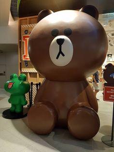 Line Friends Store Hong Kong Brown Figure