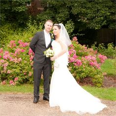Martin and Rebecca's beautiful outdoor real wedding #hitchedrealwedding