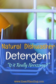 Do You Really Need a Natural Dishwasher Detergent? (YES!) | thesoftlanding.com