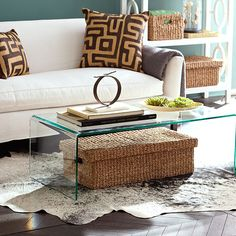 20 chic acrylic coffee tables | living rooms, trunk coffee tables