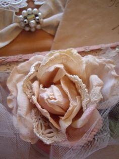 Crocheted Medallions Tucked Inside The Rose