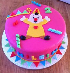 Bumba taart Awesome Cakes, Birthday Bash, Fondant, Wraps, Party, Desserts, Recipes, Food, Cakes For Kids