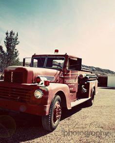 Vintage Fire Truck!