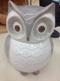 adorable owl cookie jar: $12.99 at World Market