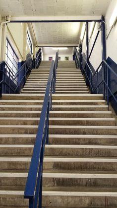 Upper Gwladys street stairs, Goodison Park