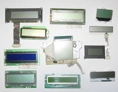 Salvaging Liquid Crystal Displays (LCDs) for Arduino by Josehf Murchison Hobby Electronics, Electronics Storage, Electronics Basics, Cool Electronics, Electronics Projects, Computer Projects, Liquid Crystal Display, Diy Tech, Raspberry Pi Projects