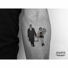 Tattoos inspired in films