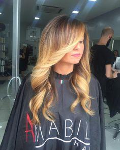 Sfumature mielate by amabile  Piega morbida  Trattati al lavaggio con #kemon #unamy #seta , la ricostruzione veloce per i tuoi capelli - [x] #napoli #milano #torino #roma #bari #giugliano #villaricca #marano #mugnano #shatush #capelli #parrucchieri #neasy #voga #teatroposillipo #posillipo #hair #hairstyle #beauty #top #style #extension #hairextension #capri #procida #ischia #ammot