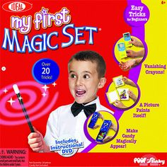 Poof Products - Slinky My First Magic Kit Ideal Magic Sets, Easy Magic, Great Hobbies, Magic Words, Confidence Building, Magic Tricks, All About Eyes, The Life, The Magicians