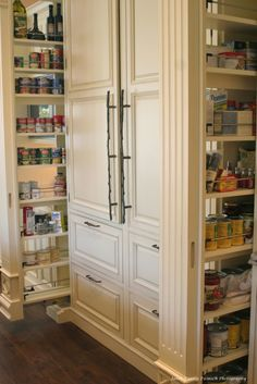 Hidden Pantry...would love this!