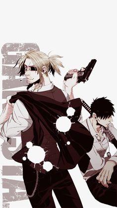 NEKOMA, lleviheichou: Gangsta. Volume 1-6 Phone... Fanarts Anime, Anime Manga, Gangsta Anime, Good Manga, Me Me Me Anime, Fan Art, Guys, Phone Wallpapers, Drawings