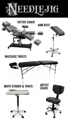 tattoo artist chair reclining beach with footrest 14 best shop furniture images in 2019 f u r n i t e all you need to keep your clients comfy while our folding chairartist