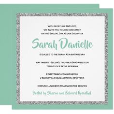 pretty poppies printed bat mitzvah invitations discount http