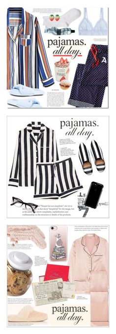 """""""Winners for PJs All Day: Lovely Loungewear"""" by polyvore ❤ liked on Polyvore featuring Mark & Graham, Hanky Panky, New Directions, Aesop, LovelyLoungewear, Pijama, Speck, Iris & Ink, topsetJan24_2018 and UGG"""