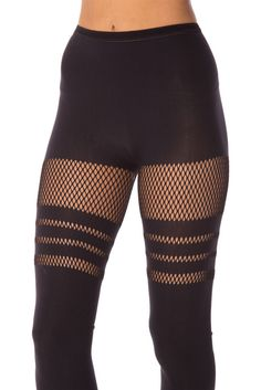 new product 5abcf 6cf93  140 OSFA Sporty Stripes Hosiery 2.0 by Black Milk Clothing (Friend)  Fishnet Leggings