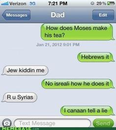 Aha I love good Christian jokes.