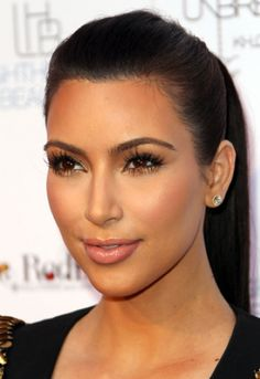 Kim Kardashian's Glowing Skin