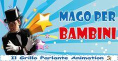 Un mago professionista saprà incantare e divertire adulti e bambini, rendendo la festa o l'evento unico ed indimenticabile... clicca qui►www.ilgrilloparlanteanimazione.it #mago #comunione #evento #festa #divertimento #spettacolo #magia #compleanno #bambini #animazione