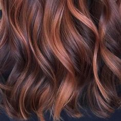 Image result for brown rose gold hair
