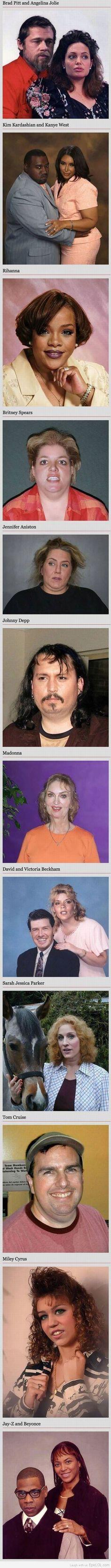 celebrities #uglypeople #bullshit