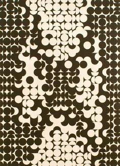 black and white structure by Zdeněk Sýkora (1964)