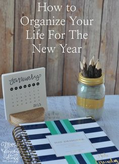 It's the start of a New Year, and it's the perfect time to get organized for the New Year. Ready to get started? Here are some tips.
