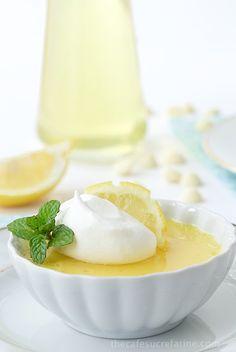 Lemon and White Chocolate Pots de Crème