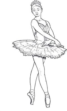 Top 10 Free Printable Beautiful Ballet Coloring Pages Online | Girls ...