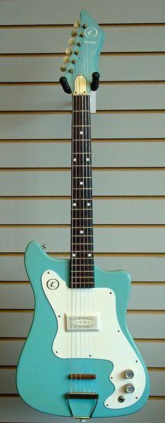 Vintage 1965 Kay Vanguard Electric Guitar