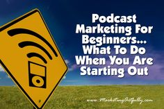 Podcast Marketing For Beginners...I don't know everything (yet) about #podcast #marketing, but what I do know about is the challenges  frustrations of hearing  reading bits from AMAZING podcasters who started years ago who now give totally different suggestions than than what they actually did to be successful. I think this happens in every business. I WILL have an amazing podcast with thousands of downloads someday in the not so distant future, but this is what I am doing just as we start.
