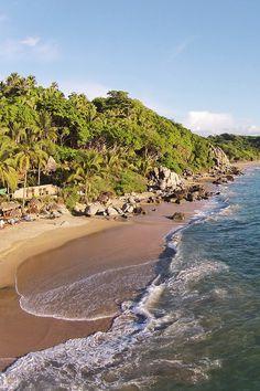 Playa Escondida, Mexico: romantic jungle retreat with a private beach. i-escape.com