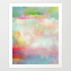 Untitled (Cloudscape) 20120222n Art Print by Tchmo