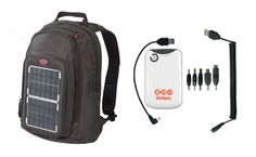 Who would've thought that toting your school books could gain you more talk time on your cell phone? The Voltaic Solar BackPack soaks up rays while you're studying in the Quad, which can convert to serious charge time for your devices. Your lunch hour outside can charge your cell up to 4 Watts, or 3 hours of talk time. The solar panel also opens up to reveal the perfect pen organization pocket.