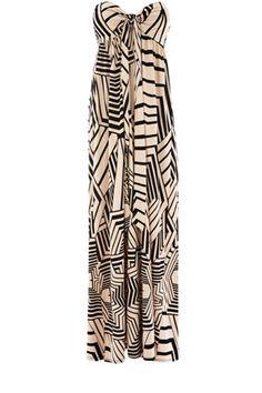 Stencil Print Dress