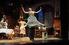 Lindsay Tornquist dancing as Essie in Asolo Rep's You Can't Take It With You. Photo by Barbara Banks