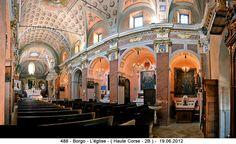 Borgo - L'église - 5 Haute Corse - 2B )