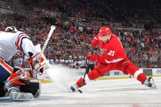 Tomas Tatar scored the only shoot out goal in a 2-1 victory over Edmonton, 03/14/2014
