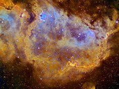 Soul Nebula--Hubble