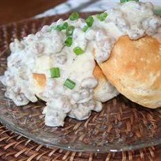 Italian Sausage Gravy and Biscuits and www.ClassicoFreshTake.com