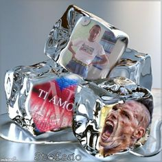 dvc on an ice cubes