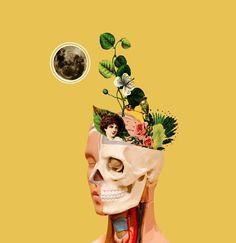 Los collages femeninos de la colombiana Vivian Pantoja