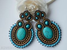 Handmade jewellery soutache