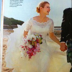 Elizabeth Smarts wedding dress
