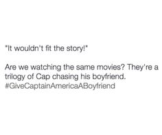 Are we watching the same movies?? The Stucky is real, accept it!