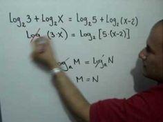 Ecuación con logaritmos: Julio Rios explica cómo encontrar la solución de una ecuación que contiene logaritmos