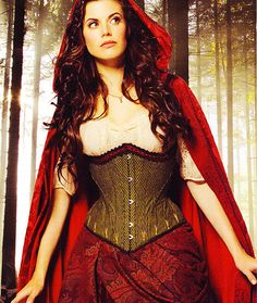 Once Upon A Time ruby/red riding hood. I still think this would be hands down a perfect Halloween costume