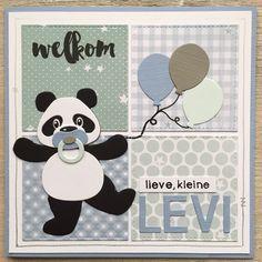 LindaCrea: Panda #6 - Welkom Levi